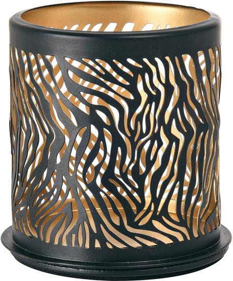 Duni Kerzenhalter Safari 75 x75 mm Zebra