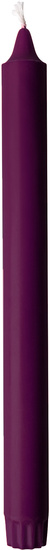 Duni Stearin Tischkerzen plum 25 cm 4 Stück