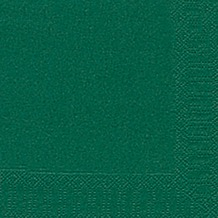Duni Servietten 3lagig Tissue Uni dunkelgrün, 33 x 33 cm, 20 Stück