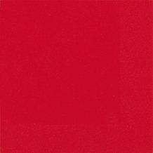 Duni Cocktail-Servietten 3lagig Tissue Uni rot, 24 x 24 cm, 20 Stück