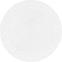 Duni Tortenspitzen rund weiß, ø 36 cm, 6 Stück