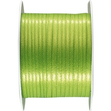 Duni Seidenband grün, 3 mm x 10 m