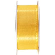 Duni Seidenband gelb, 25 mm x 3 m