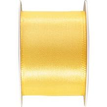 Duni Seidenband gelb, 40 mm x 3 m