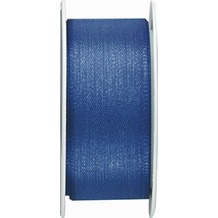 Duni Seidenband blau, 25 mm x 3 m