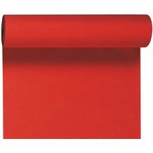 Duni Dunicel-Tischläufer 3 in 1, alle 40 cm perforiert, Uni rot, 40 cm x 4,8 m