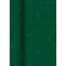 Duni Tischdeckenrolle aus Dunisilk+ Zalamuster dunkelgrün, 1,2 x 25 m