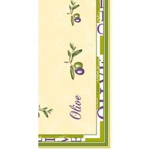 Duni Mitteldecken aus Dunicel Motiv Olea, 84 x 84 cm