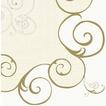 Duni Mitteldecken aus Dunicel Motiv Vincent Champagne, 84 x 84 cm