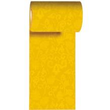 Duni Tischband aus Dunicel gelb, 15 x 1000 cm