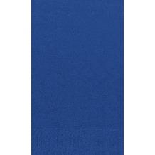 Duni Dinner-Servietten 2lagig Tissue Uni dunkelblau, 40 x 40 cm, 250 Stück