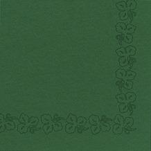 Duni Servietten aus Dunicel Weinranke jägergrün, 41 x 41 cm, 50 Stück