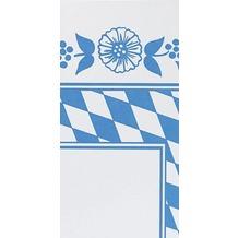 Duni Mitteldecken aus Dunicel Motiv Bayer. Raute, 84 x 84 cm, 100 Stück