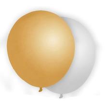 Duni Ballons gold & silber 8 St.