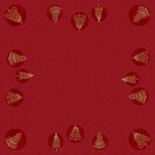 Duni Duni Dunicel-Mitteldecken Elegant Trees 84 x 84 cm 100 Stück