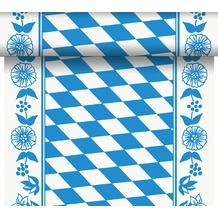 Duni Dunicel-Tischläufer Tête-à-Tête Bayer. Raute 24 x 0,4 m 20 Abschnitte je 1,20 m lang, 40cm breit, perforiert 1 Stück
