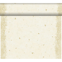 Duni Dunicel-Tischläufer Tête-à-Tête Celebrate White 24 m x 0,4 m (20 Abschnitte) 1 Stück
