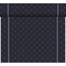 Duni Dunicel-Tischläufer Tête-à-Tête Glitter Black 24 m x 0,4 m (20 Abschnitte) 1 Stück