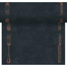 Duni Dunicel-Tischläufer Tête-à-Tête Le Bistro 24 x 0,4 m 20 Abschnitte je 1,20 m lang, 40cm breit, perforiert 1 Stück