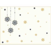 Duni Dunicel-Tischsets Snowflake Necklace White 30 x 40 cm 100 Stück
