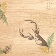 Duni Dunilin-Servietten My Deer 40 x 40 cm 1/ 4 Falz 50 Stück