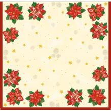 Duni Dunisilk-Mitteldecken Flores 84 x 84 cm 20 Stück