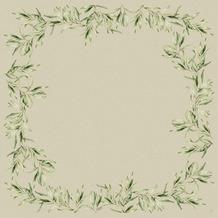 Duni Dunisilk-Mitteldecken Foliage 84 x 84 cm 20 Stück