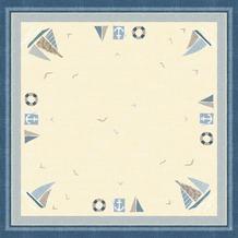 Duni Dunisilk®-Mitteldecken Seaway 84 x 84 cm 20 Stück