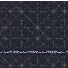 Duni Duni Dunisoft-Servietten Glitter Black 40 x 40 cm 60 Stück