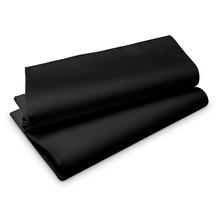 Duni Evolin-Tischdecken schwarz 110 x 110 cm 50 Stück