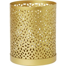 Duni Kerzenhalter aus Metall für Maxi-Teelichter oder LED Bliss gold 100 x 80 mm 1 Stück