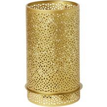 Duni Kerzenhalter aus Metall für Maxi-Teelichte oder LED Bliss gold 200 x 120 mm 1 Stück