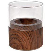 Duni Kerzenhalter Neat wood dark 70 x 60 mm 1 Stück