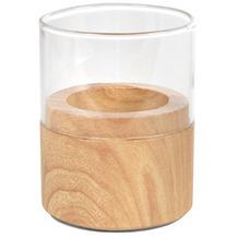 Duni Kerzenhalter Neat wood light 70 x 60 mm 1 Stück