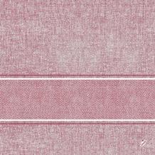 Duni Klassik-Serviette Motiv Lina bordeaux 40x40 cm 4lagig, geprägt 50 St.
