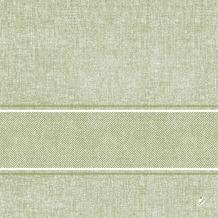 Duni Klassik-Serviette Motiv Lina herbal green 40x40 cm 4lagig, geprägt 1/ 4 Falz 50 St.