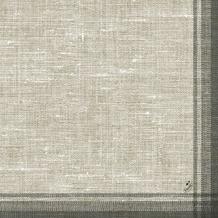 Duni Klassik-Servietten Motiv Linus black 40x40 cm 4lagig, geprägt 1/ 4 Falz 50 St.