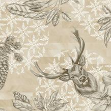 Duni Duni Klassikservietten Wild Deer 40 x 40 cm 50 Stück