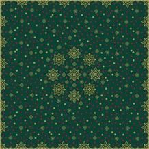 Duni Mitteldecke X-Mas Deco Green 84 x 84 cm