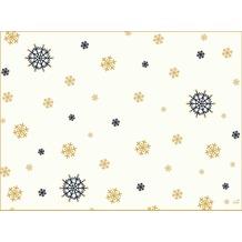 Duni Papier-Tischsets Snowflake Necklace White 31 x 40 cm 250 Stück