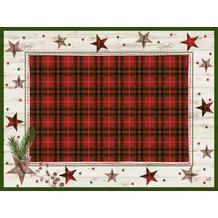 Duni Papier® Tischsets Naturally Christmas 30 x 40 cm 250 Stück