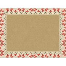 Duni Papier® Tischsets Urban Yule Natural 32 x 40 cm 100 Stück