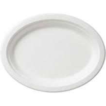 Duni Servierplatten Bagasse weiß 32 cm 4er