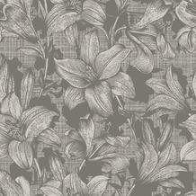Duni Servietten 3-lagig Motiv Firenze Flint Grey 33 x 33 cm 20 Stück
