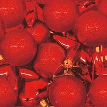 Duni Servietten Red & Glitter 33 x 33 cm 20 St.