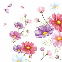 Duni Servietten Tissue Blooms 33 x 33 cm 20er