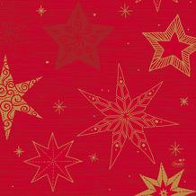 Duni Servietten Tissue Star Stories Red 33 x 33 cm 20 Stück