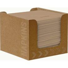 Duni Serviettenbox mit Dunisoft-Servietten ecoecho® 20 x 20 cm 50 Stück
