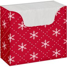 Duni Serviettenbox Tissue Christmas 33 x 33 cm 75 Stück