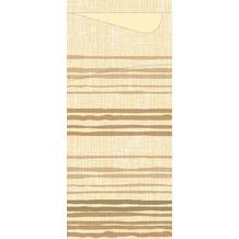 Duni Serviettentaschen Sacchetto® Tissue Brooklyn Cream 190 x 84 mm 100 Stück